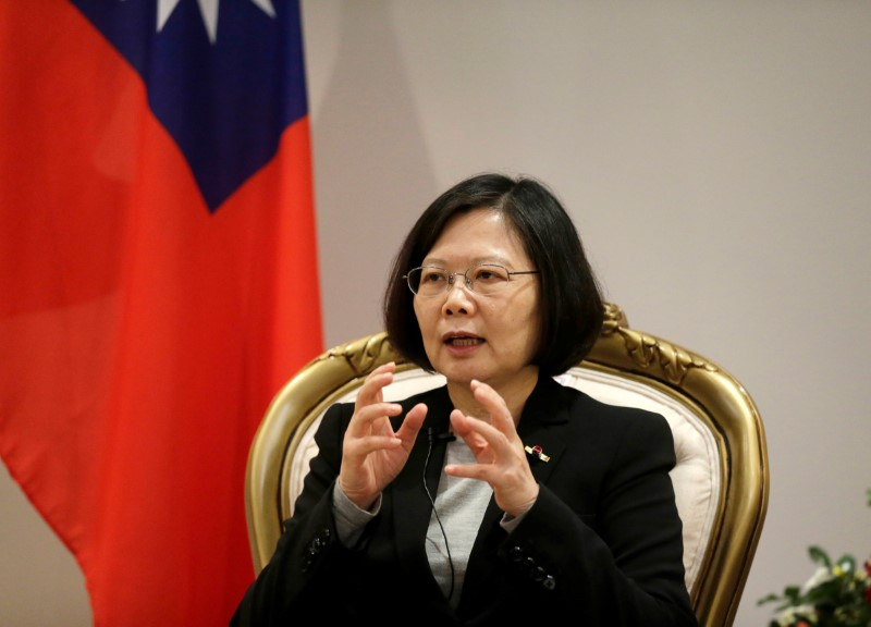 Taiwan's President Tsai Ing-wen. Photo: Reuters/Jorge Adorno