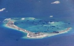 Phase Zero? Chinese dredging vessels at Mischief Reef in the disputed Spratly Islands in the South China Sea. Photo: US Navy handout via Reuters