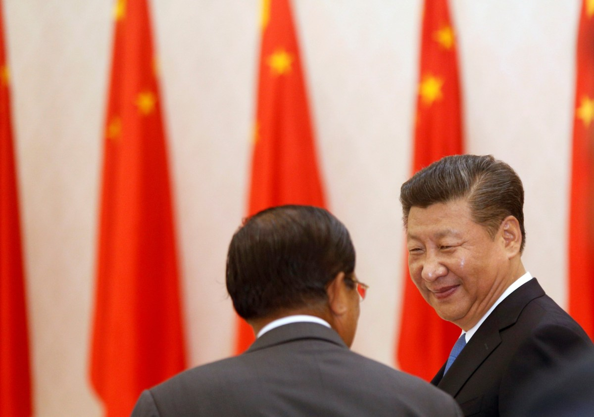 Chinese President Xi Jinping's signature One Belt, One Road initative is gaining steam, and world leaders are taking notice. Photo: Reuters, Samrang Pring