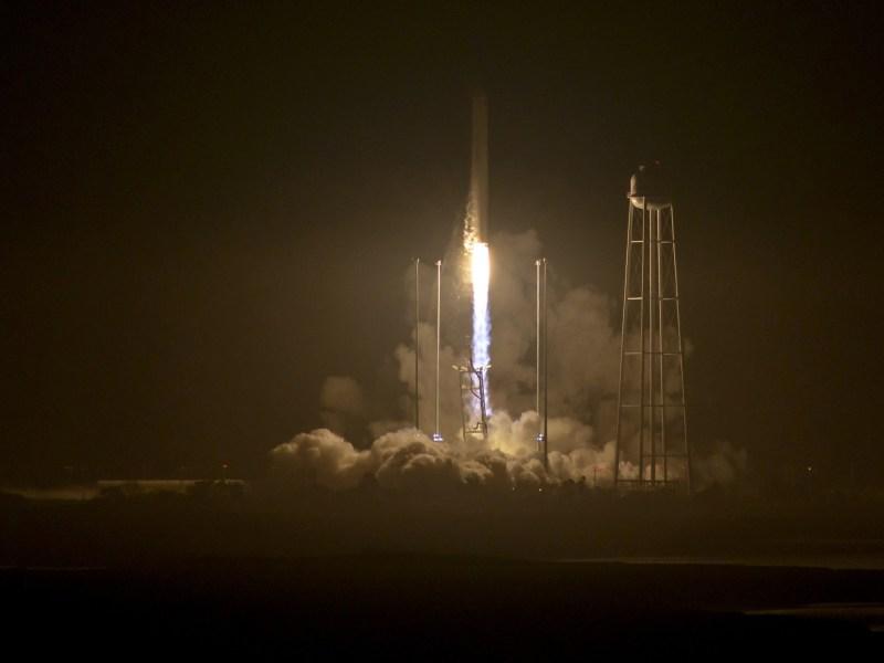 Wallops Flight, we have lift off. Photo: Reuters