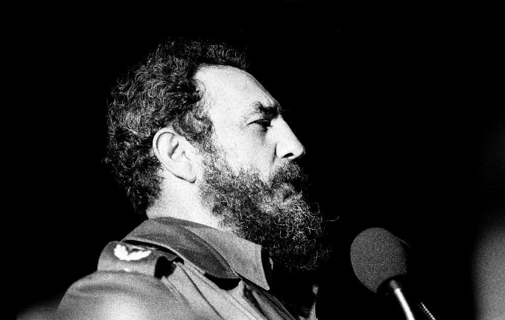 Fidel Castro,1978. Photo: Marcelo Montecino [CC BY-SA 2.0 (http://creativecommons.org/licenses/by-sa/2.0)], via Wikimedia Commons