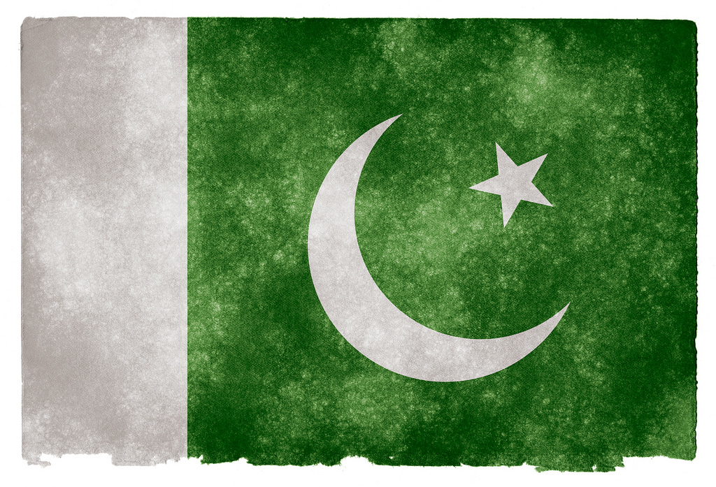 Pakistan flag. Photo: Flickr