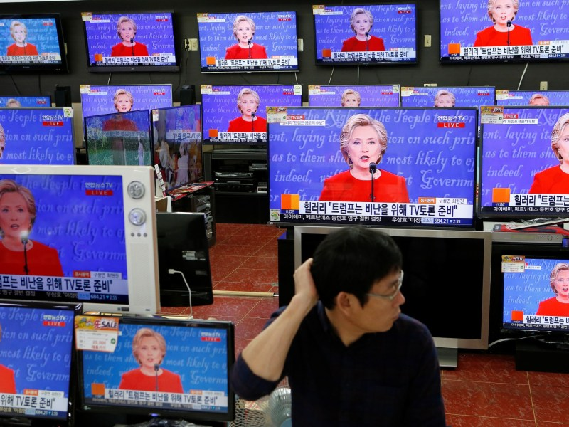The world may be scratching its head at this year's US presidential race but Asian American voters have chosen a clear side. Photo: Reuters