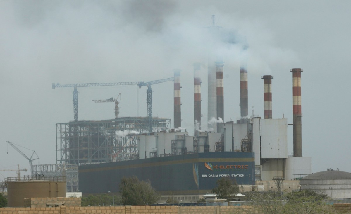 General view of the K-Electric's Power Plant located in Bin Qasim on the outskirts of Karachi. Photo: Reuters