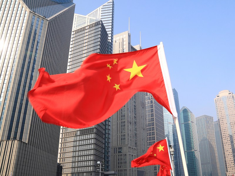 Photo of China Flag. Photo: iStock
