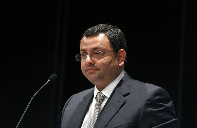 Cyrus Mistry speaks to shareholders during TCS annual general meeting in Mumbai in this file photo-- REUTERS/Vivek Prakash