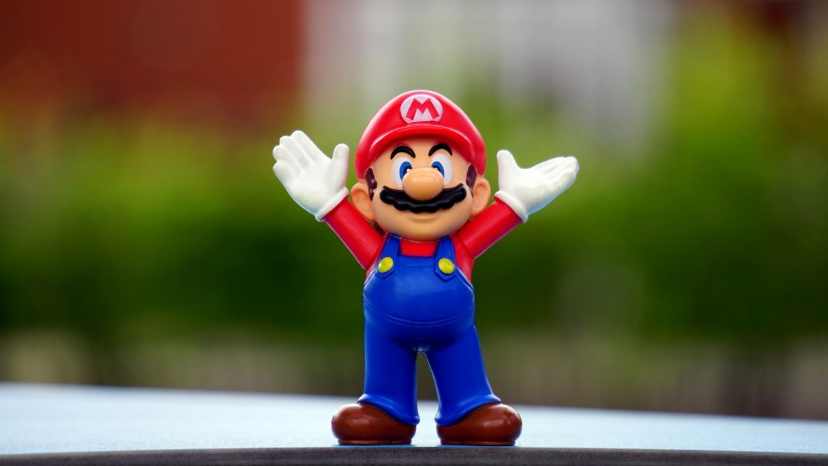 Super Mario is being lined up for the new console. It's unclear what he makes of it.