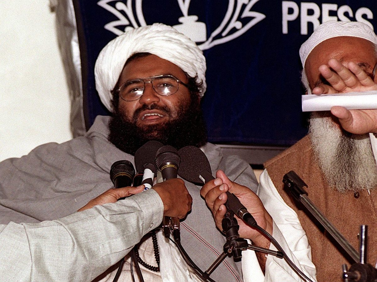 Masood Azhar, head of the Jaish-e-Mohammed terrorist group. Photo: AFP/Aamir Qureshi