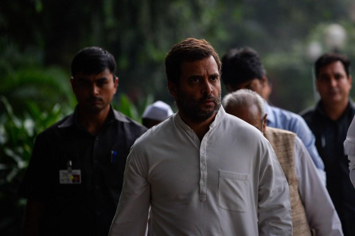 Congress Party vice president Rahul Gandhi. Photo: AFP/Chandan Khanna