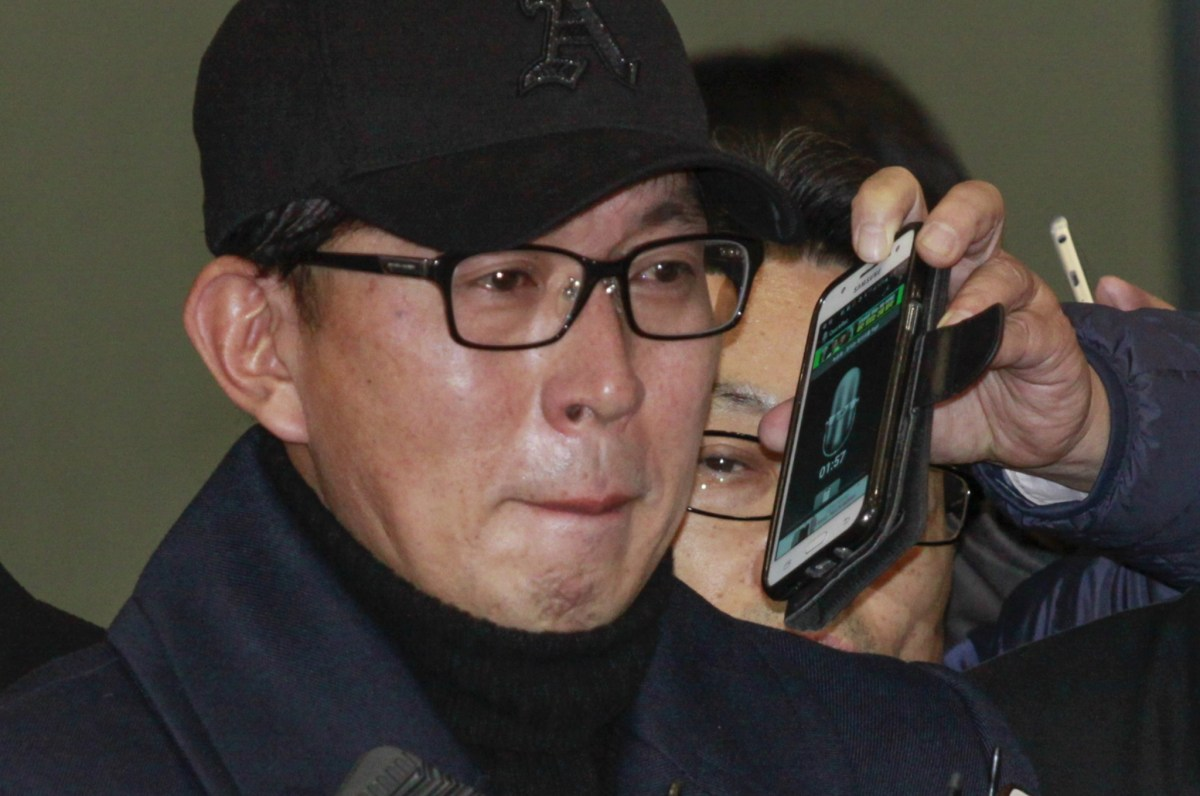 Prominent K-pop music video director Cha Eun Taek was charged Sunday. Photo: AFP/Seung-il Ryu/ NurPhoto