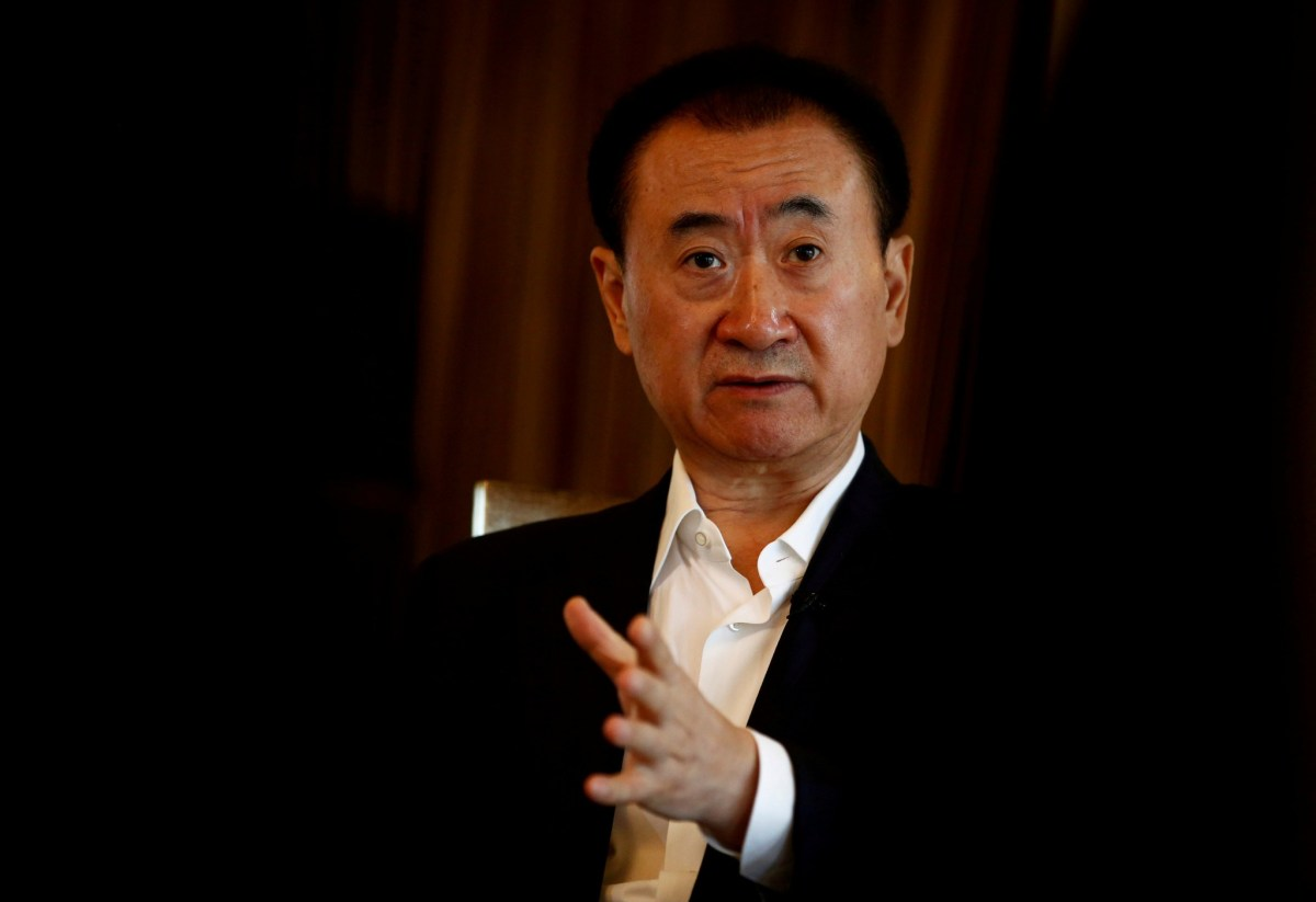 Wang Jianlin, chairman of the Wanda Group. Photo: Reuters/Thomas Peter