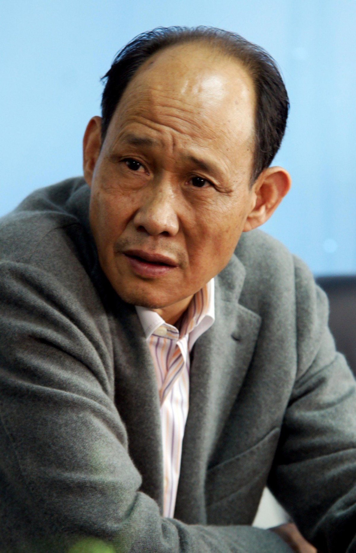 Huang Rulun, head of the Century Golden Resources Group, is pictured here in Zhengzhou, Henan province, in 2011. Photo: Reuters