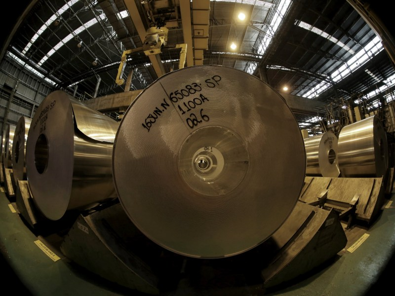 US lawmakers accuse China of seeking sensitive research and technology with aluminum bid. Photo:  Reuters.