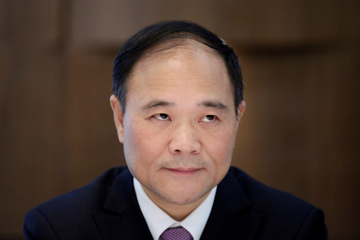 Li Shufu, founder and chairman of Zhejiang Geely Holding Group. Photo: Reuters/Aly Song