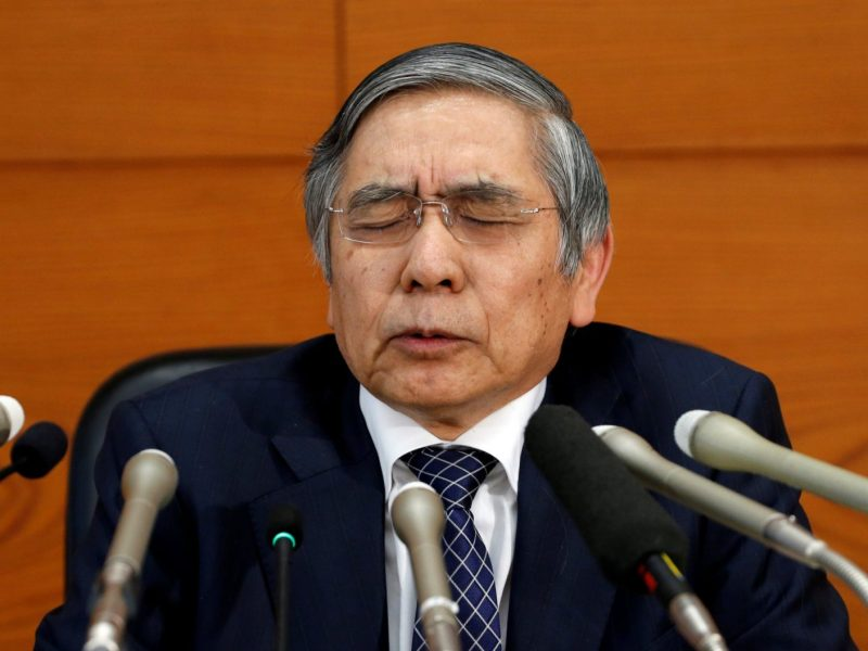 Bank of Japan Governor Haruhiko Kuroda has found it nearly impossible to revive the economy. Maybe he needs to try a different approach. Photo: Reuters