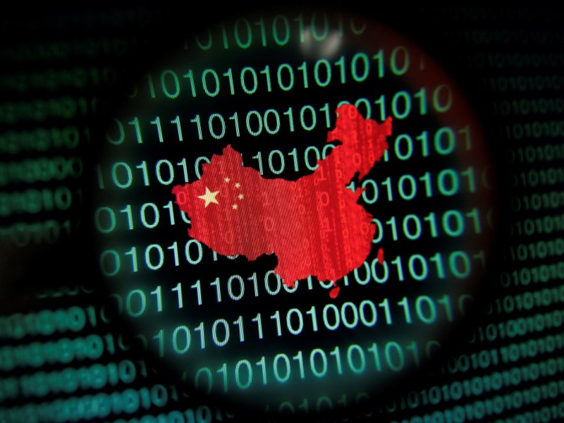 China has conducted and supported cyber intrusions into US commercial networks for over a decade, according to a US government report. Photo: Reuters / Edgar Su