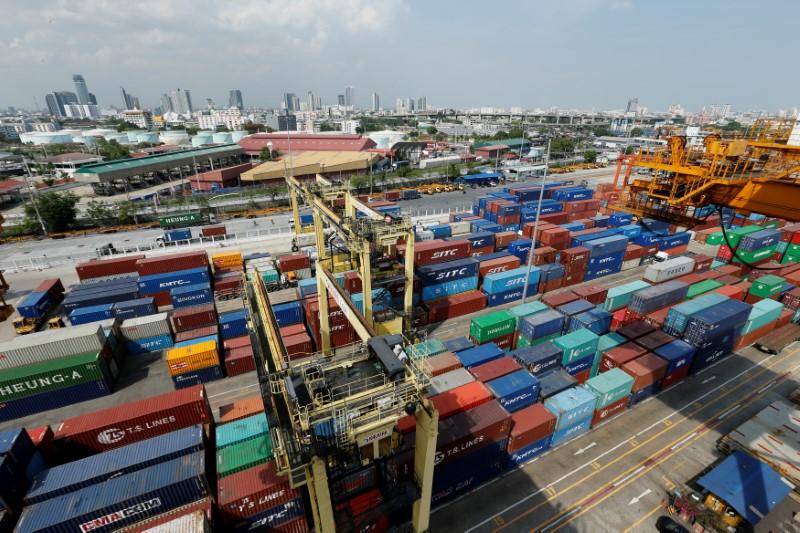 A view of the port of Bangkok, Thailand May 26, 2016.  Photo: Reuters/Jorge Silva