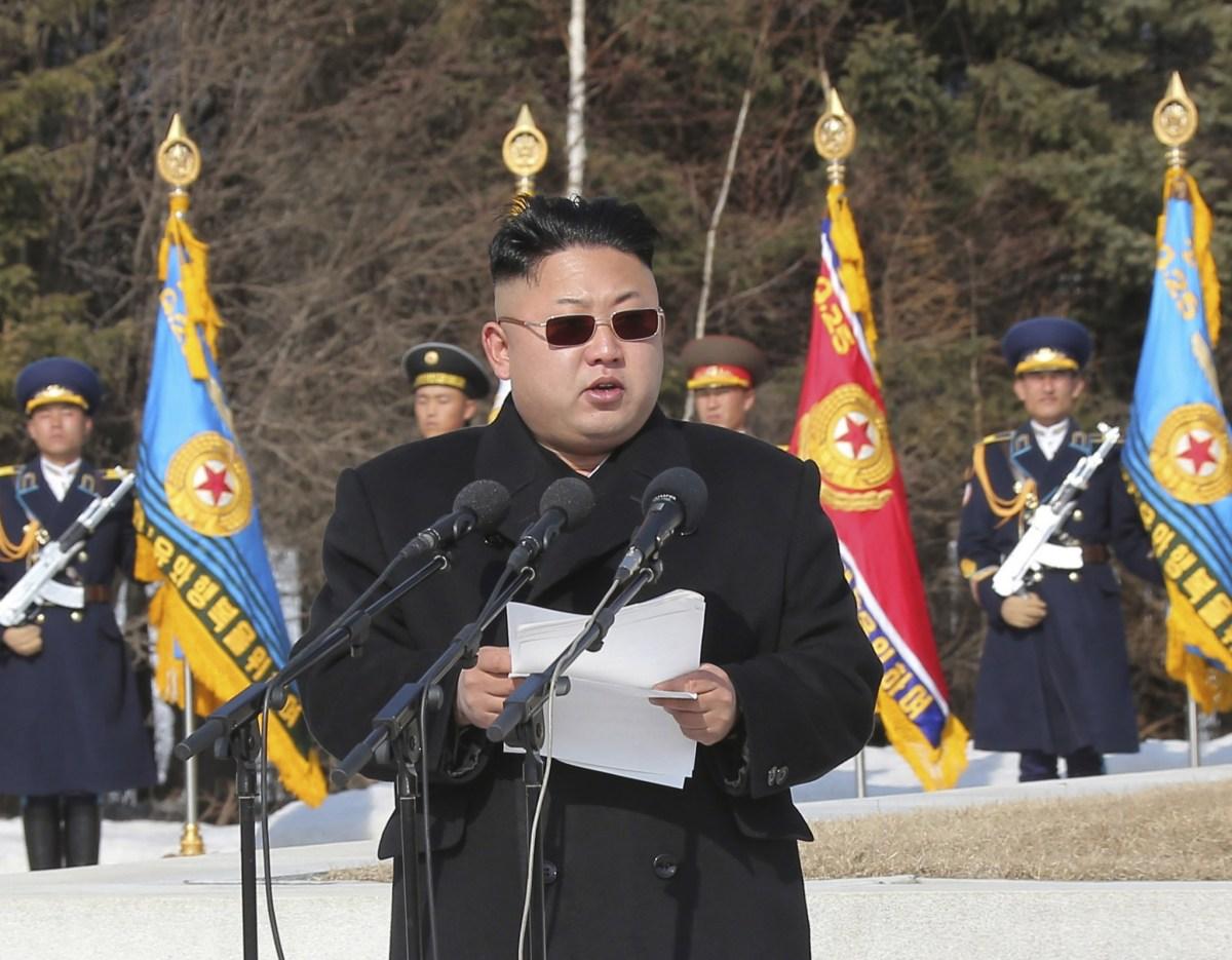 Kim Jong-un back in the black book?  Photo: KCNA via Reuters