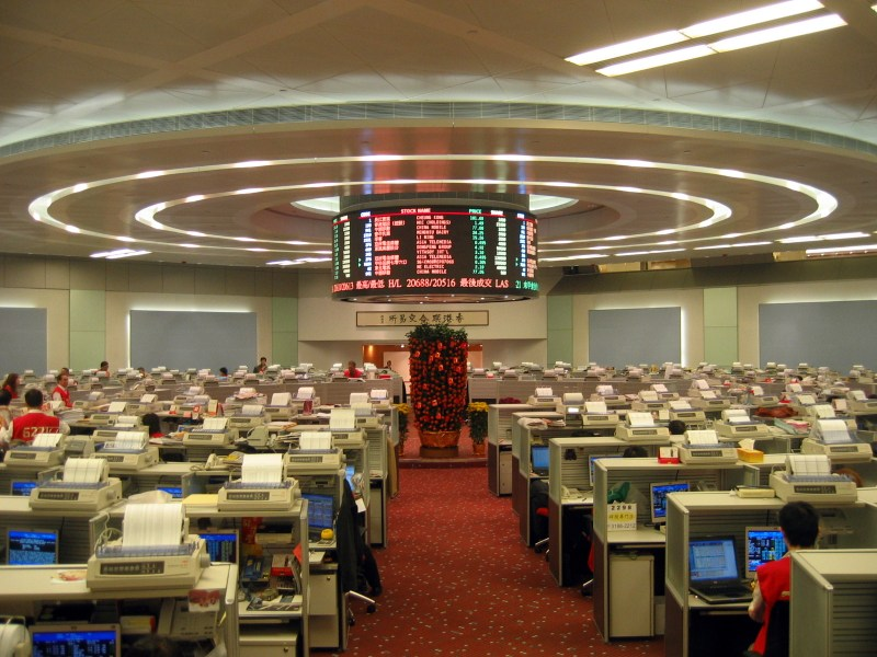 Hong Kong stock exchange. Photo: Wikimedia Commons