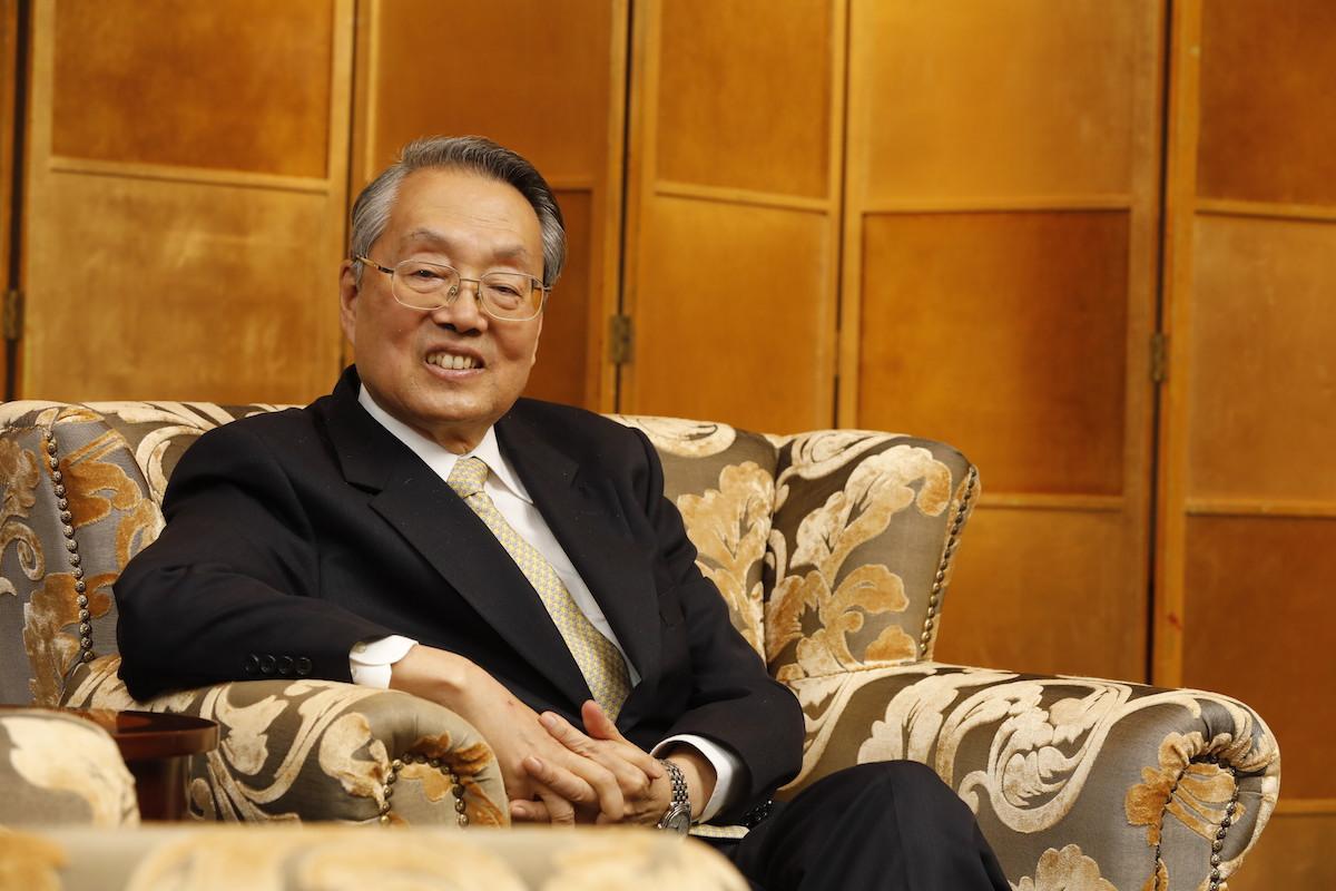 Acer founder Stan Shih, the left's new standard-bearer.