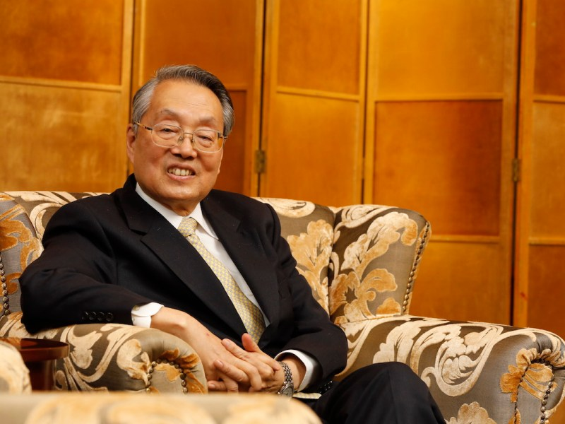 Acer founder Stan Shih, the left's new standard-bearer.