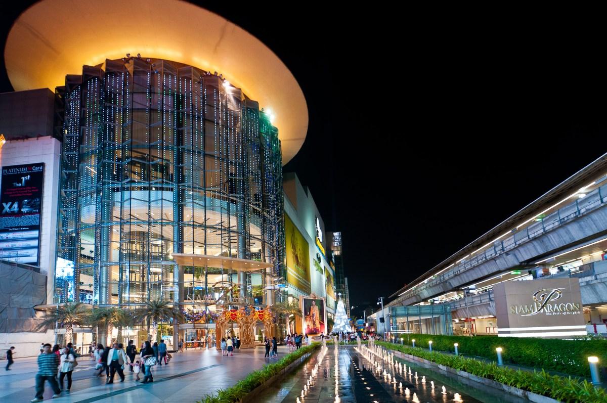 Siam Paragon in Bangkok. Photo: Wikimedia Commons