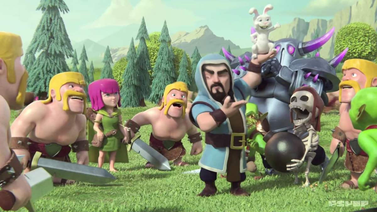 Chinese internet giant Tencent Holdings took a majority stake in Supercell, which makes Clash of Clans. Photo: Supercell