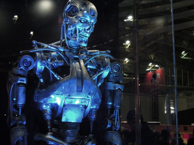 A T-800 model used in the Terminator movie series. Photo: Asia Times