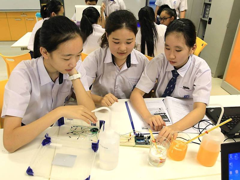 Does Singapore's system produce the best students? Photo: Ministry of Education Singapore