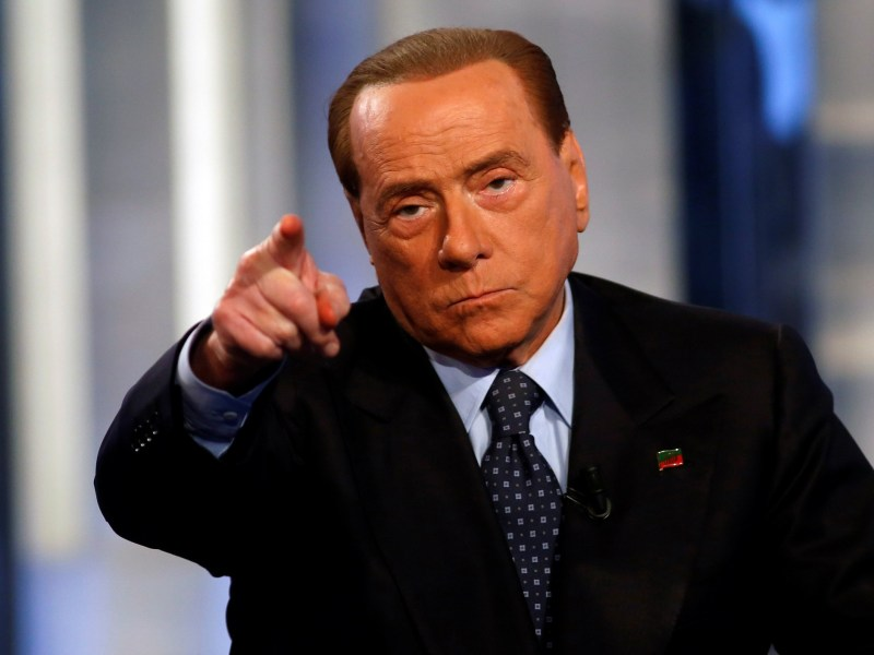 Former Italian prime minister Silvio Berlusconi could play a role in next year's elections. Photo: Reuters / Remo Casilli