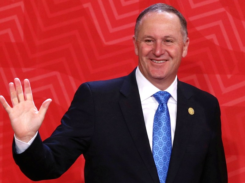 New Zealand's Prime Minister John Key is quitting after eight years in power. Photo: Reuters