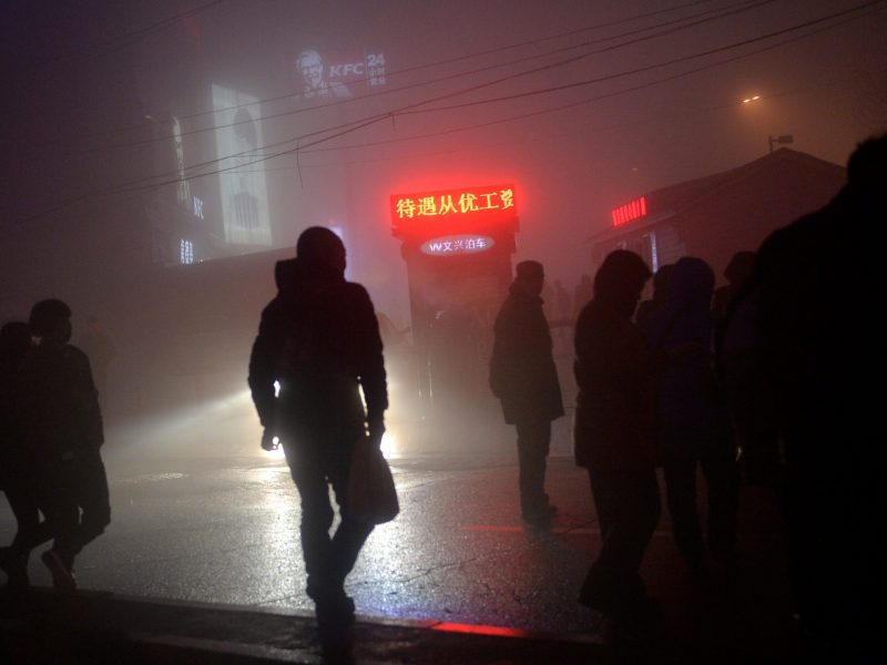 Pollution in Shenyang, Liaoning province. Photo: Reuters/Stringer