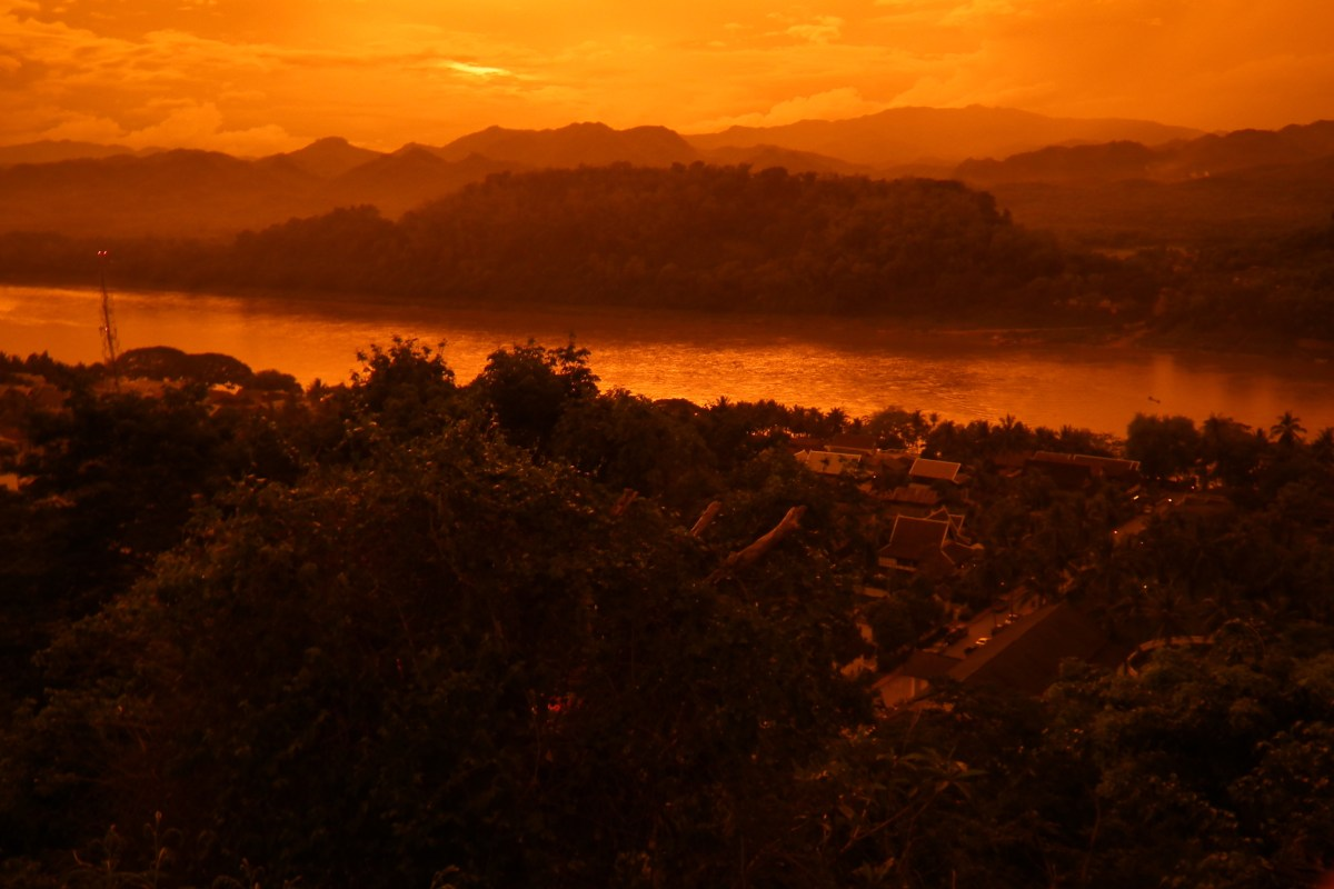 The Mekong River at Luang Prabang. Photo: Wikimedia Commons
