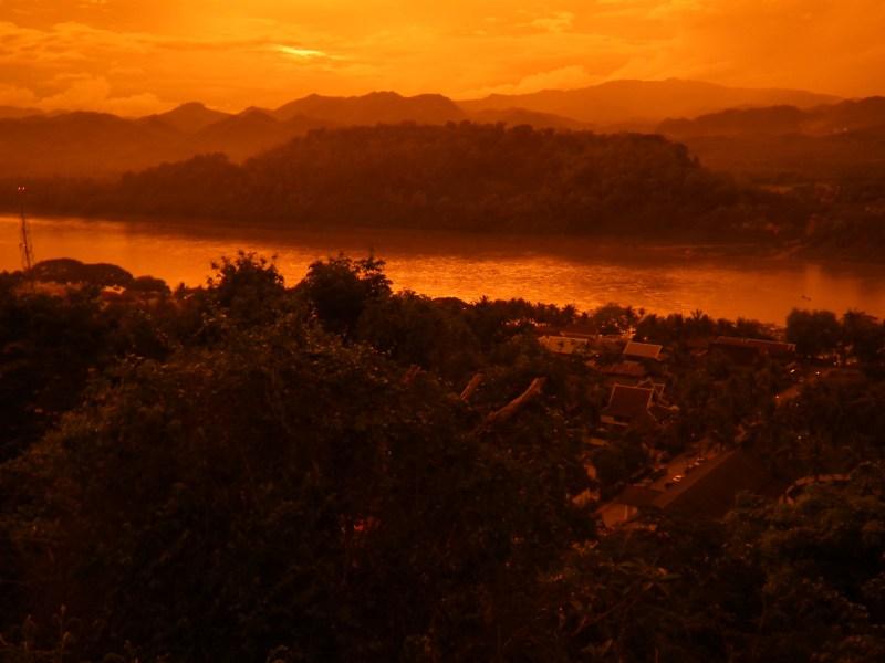 The Mekong River at Luang Prabang. Photo: Wikimedia Commons