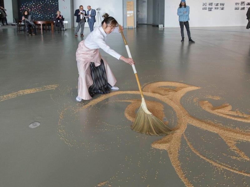 Lee Mingwei's Our Labrynth. Photo: Courtesy Shanghai Biennale