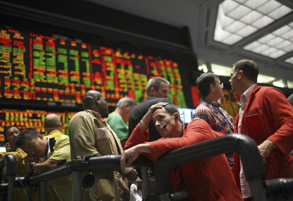 The moment the world turned to junk: Global markets plummeted in 2008 after Lehman Brothers went bust even though it had top credit rating. Reuters/John Gress
