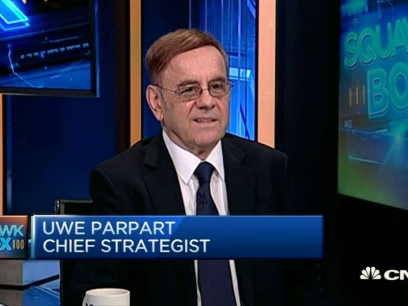 Capital Link International chief strategist Uwe Parpart discusses productivity growth in the US with CNBC's Bernie Lo. Photo: CNBC screen grab