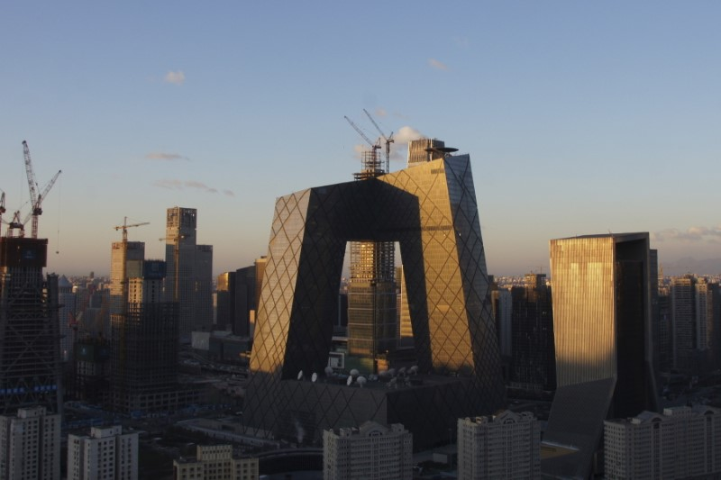 CCTV headquarters in Beijing. For an organization that is supposed to be emanating soft power, the building has a touch of the Death Star about it. Photo: Reuters