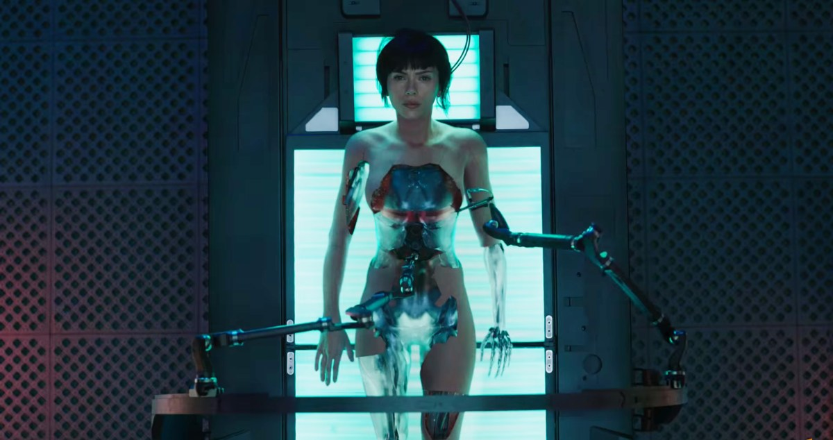 Scarlett Johannson stars in the live-action adaptation of Japanese anime film, Ghost In The Shell.