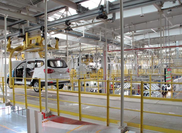 An auto factory in Liuzhou, Guangxi Zhuang Autonomous Region. Photo: Reuters