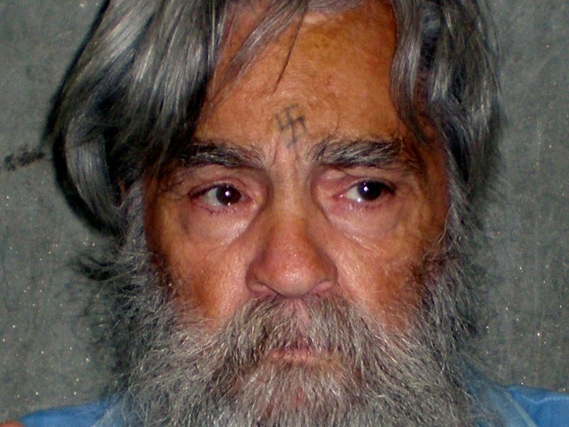 Convicted mass murderer Charles Manson is shown in this handout picture from the California Department of Corrections and Rehabilitation dated June 16, 2011 and released to Reuters April 8, 2012. Photo: Reuters/CDCR/Handout