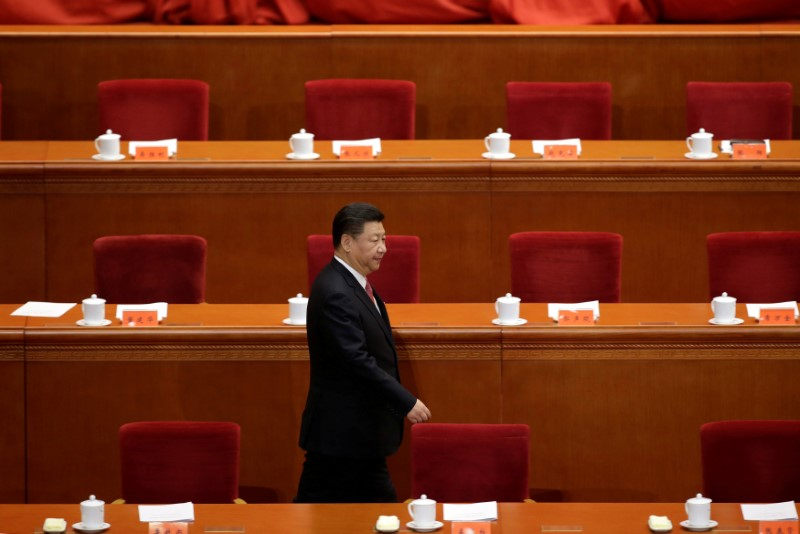 Xi Jinping may well seize his opportunity. Photo: Reuters / Jason Lee