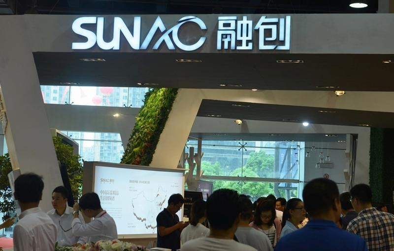 Investors are worried over Sunac China Holdings' plan to invest in LeEco. Photo: China Daily/via Reuters