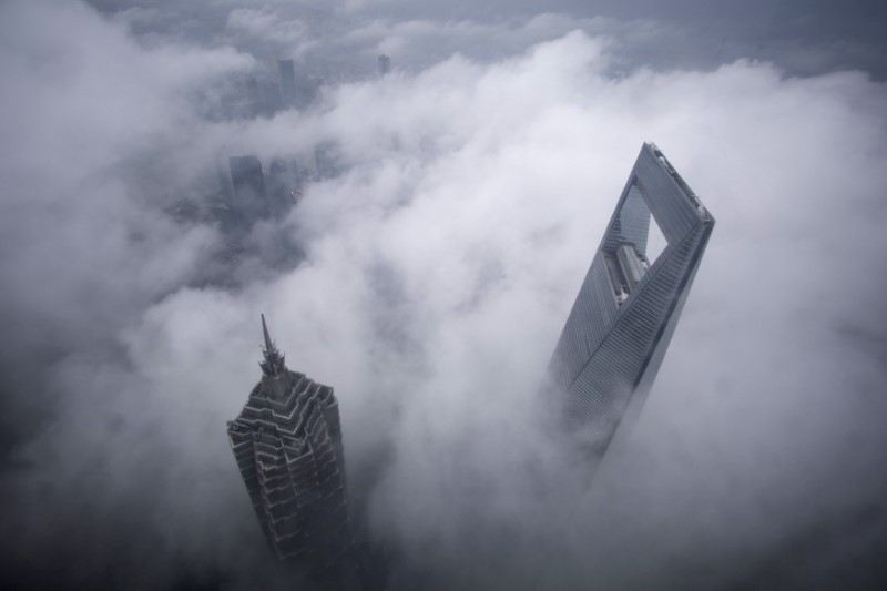 Skyscrapers in the financial district of Pudong in Shanghai. Photo: Reuters, Aly Song