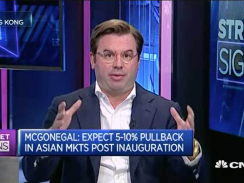 Capital Link International CEO Brett McGonegal discusses the US-China trade relationship on CNBC's Street Signs. Photo: CNBC screen grab