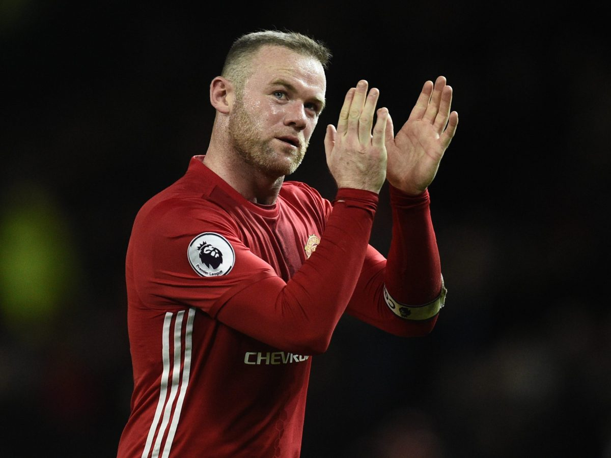 Manchester United's English striker Wayne Rooney announced on Thursday he is not moving to the Chinese Super League. AFP PHOTO