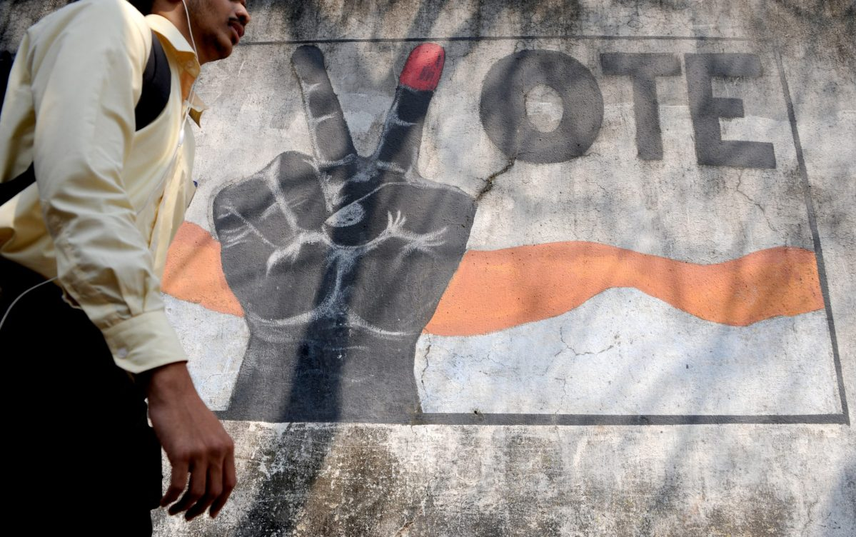 Five Indian states representing more than 160 million voters will go to the polls, a key test for the prime minister after his shock currency move. Photo: AFP