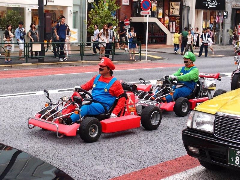 Is that Mario?  Photo: Yamashita Yohei via WikiCommons