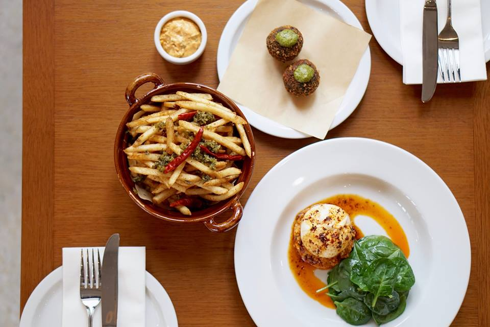 A selection of dishes at Second Draft