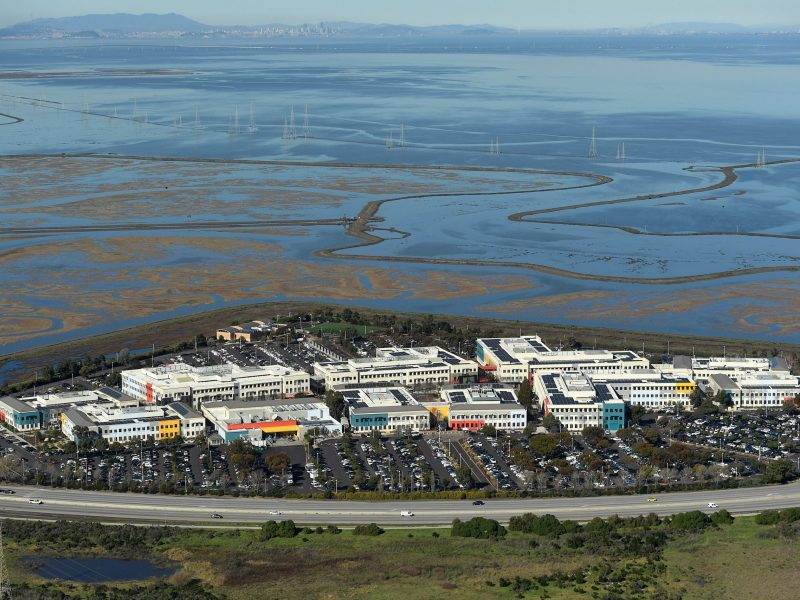 Facebook's campus on the edge of San Francisco Bay is unlikely to see a rival sprouting in Japan.  Photo: Reuters/Noah Berger. January 13, 2017.
